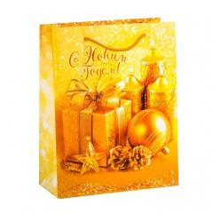 GiftPack Дороже золота Пакет ламинат вертикальный, 18х23х8см