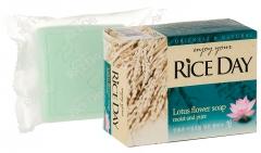 CJ Lion Rice Day Мыло туалетное с экстрактом лотоса 100г