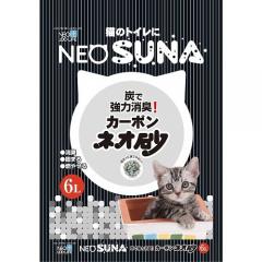 Neo Loo Life Комкующийся туалетный наполнитель для кошек с активированным углем 6л