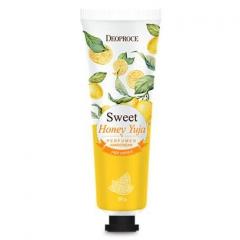 Deoproce Sweet Yuja Perfumed Hand Cream Крем для рук парфюмированный со сладким цитрусом 50г