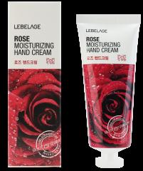 Lebelage Rose Moisturizing Hand Cream Увлажняющий крем для рук с экстрактом розы 100мл