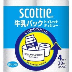 Nepia Scottie Crecia Двухслойная туалетная бумага с легким ароматом 4шт