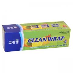 Clean Wrap Плотная пищевая пленка с отрывным краем-зубцами 15см*30м 1шт