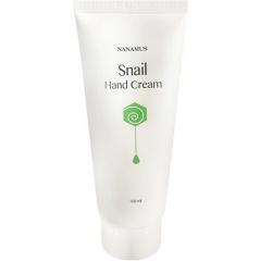 Nanamus Snail Hand Cream Крем для рук с улиточным муцином 100мл