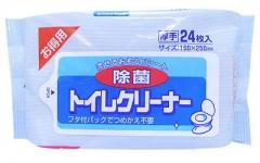 Showa Siko Toilet Cleaner Влажные салфетки для очищения унитаза 160*250мм 24шт