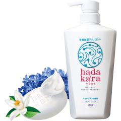 Lion Hadakara Увлажняющий гель для душа (аромат дорогого мыла) 500мл
