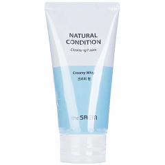The Saem Natural Condition Cleansing Foam Creamy Whip Пенка для умывания с ромашкой 150мл