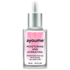Ayoume Moisturing-&-Hydrating Face Oil With Olive Сыворотка для лица увлажняющая 30мл