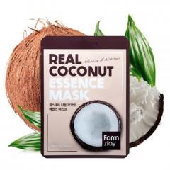 Farmstay Real Coconat Essence Mask Тканевая маска для лица с экстрактом кокоса 23мл