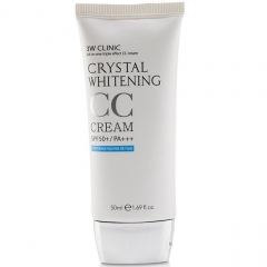 3W Clinic Crystal Whitening CC Cream Осветляющий СС-крем SPF50+/PA+++ 50мл