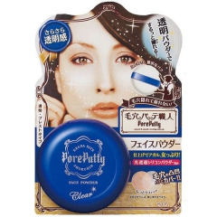 Sana Pore Putty Face Powder Clear Матирующая прозрачная пудра, скрывающая поры 25г