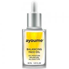 Ayoume Balancing Face Oil With Sunflower Сыворотка для лица восстанавливающая 30мл
