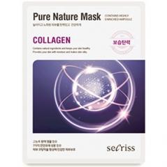 Anskin Secriss Pure Nature Mask Pack Маска для лица тканевая (Collagen) 25мл