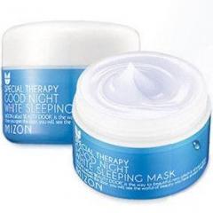 Mizon Good Night White Sleeping Mask Ночная увлажняющая отбеливающая маска 80мл