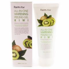Farmstay All In One Whitening Peeling Gel Kiwi Пилинг-гель с экстрактом киви 180мл