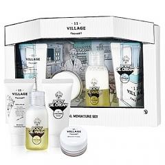 Village 11 Factory Special Miniature Set Набор миниатюр: пенка, крем, гель и крем 30/15/50/30мл