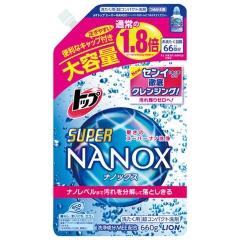 Lion Top Super Nanox Суперконцентрированный гель для стойких загрязнений (рефил) 660г