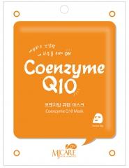 Mijin MJ on Coenzyme Q10 Mask Pack Тканевая маска с коэнзимом Q10 1шт