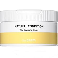 The Saem Natural Condition Rice Cleansing Cream Рисовый очищающий крем 300мл