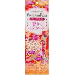 Fudo Kagaku Женские дышащие стельки с ароматом розы 21-26см 1пара