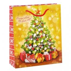 GiftPack Ёлочка, гори! Пакет ламинат вертикальный, 18х23х8см