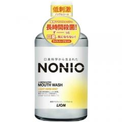 Lion Nonio Профилактический зубной ополаскиватель (без спирта, легкий аромат трав и мяты) 80мл
