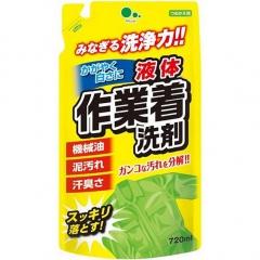 Mitsuei Гель для стирки рабочей одежды с мощными ферментами, дезодорирующий (рефил) 720мл