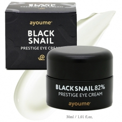 Ayoume Black Snail Prestige Eye Cream Крем для глаз с муцином черной улитки 82% 30мл