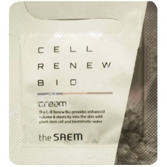 The Saem Cell Renew Bio Cream Крем для лица со стволовыми клетками (тестер)