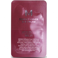 Missha M Perfect Cover BB Крем SPF42/PA++ (тестер) 1мл