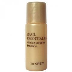 The Saem Snail Essential EX Wrinkle Solution Emulsion Улиточная эмульсия-лифтинг (миниатюра) 5мл