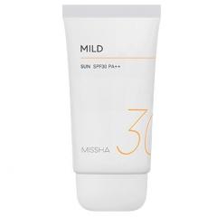 Missha All Around Safe Block Mild Sun Мягкий солнцезащитный крем SPF30/PA++ 50мл