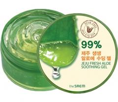 The Saem Jeju Fresh Aloe Soothing Gel Многофункциональный гель Алоэ (99% сока алоэ) 300мл