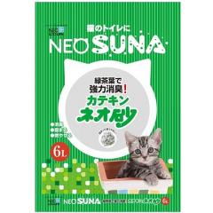 Neo Loo Life Комкующийся туалетный наполнитель для кошек с экстрактом зеленого чая 6л