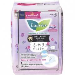 KAO Laurier Beauty Style Premium Fresh Ежедневные прокладки с цветочно-ягодным ароматом 54шт 54шт