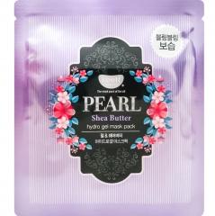 Petitfee Koelf Pearl&Shea Butter Гидрогелевая маска для лица с маслом ши и жемчужной пудрой 30мл