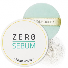 Etude House Zero Sebum Drying Powder Матирующая пудра для проблемной кожи 6г