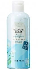 The Saem Healing Tea Garden Tea Tree Cleansing Water Очищающая вода с чайным деревом 300мл