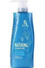 Kerasys Naturing Уход за кожей головы Кондиционер для волос с морскими водорослями и лимоном 500мл