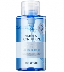 The Saem Natural Condition Sparkling Cleansing Water Мицеллярная вода без спирта 500мл