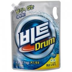 CJ Lion Beat Drum Жидкое средство с ферментами для автоматической стирки (рефил) 2л