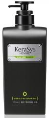 Kerasys Лечение кожи головы Мужской шампунь для волос против перхоти и зуда с травами 550мл