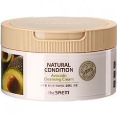 The Saem Natural Condition Avocado Cleansing Cream Крем очищающий с авокадо 300мл