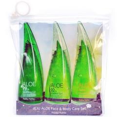 Holika Holika Jeju Aloe Face and Body Care Set Набор для ухода за лицом и телом 55мл/55мл/55мл