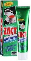 Lion Zact Whitening Зубная паста против налета от чая, кофе, сигарет с отбеливающим эффектом 100г