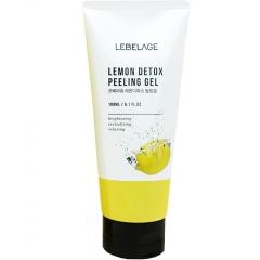 Lebelage Lemon Detox Peeling Gel Отшелушивающий гель с экстрактом лимона 180мл