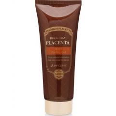 3W Clinic Premium Placenta Soft Peeling Gel Мягкий пилинг-гель с экстрактом плаценты 180мл