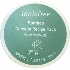 Innisfree Capsule Recipe Pack Капсульная ночная маска с бамбуком 10мл