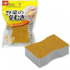 LEC Абразивная губка для чистки овощей (с напылением из зерен кукурузы) 1шт