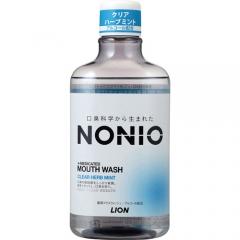 Lion Nonio Профилактический зубной ополаскиватель (аромат трав и мяты) 80мл